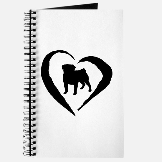 Pug Heart Journal