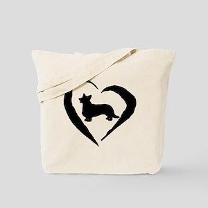 Cardigan Heart Tote Bag