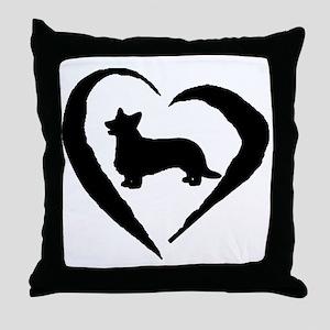 Cardigan Heart Throw Pillow