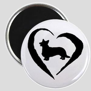 Cardigan Heart Magnet