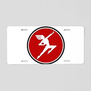Haiwatha railroad line logo Aluminum License Plate