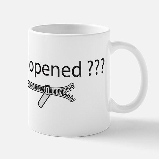 Cute Opened zipper Mug