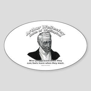 Arthur Wellesley 02 Oval Sticker