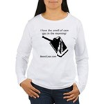 I love the smell of race gas - Women's Long Sleeve