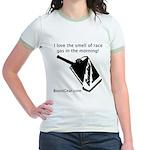 I love the smell of race gas - Jr. Ringer T-Shirt