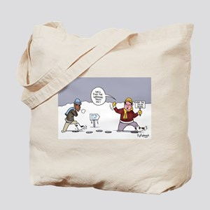 Off The Global Warming Cliff Tote Bag