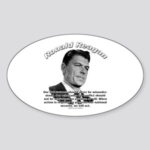 Ronald Reagan 03 Oval Sticker