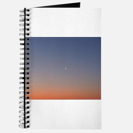 Moon at Sunrise Journal