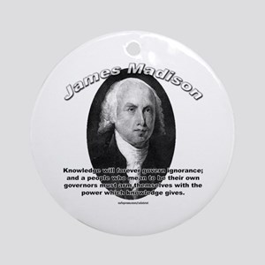 James Madison 01 Ornament (Round)