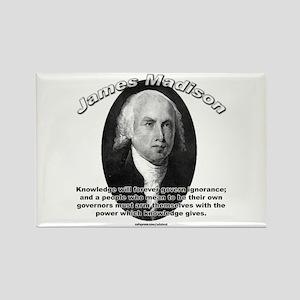 James Madison 01 Rectangle Magnet