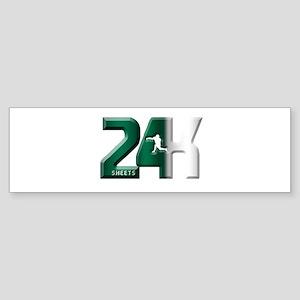 Green Punch Bumper Sticker
