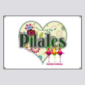 PIlates Fanciful Flowers Banner