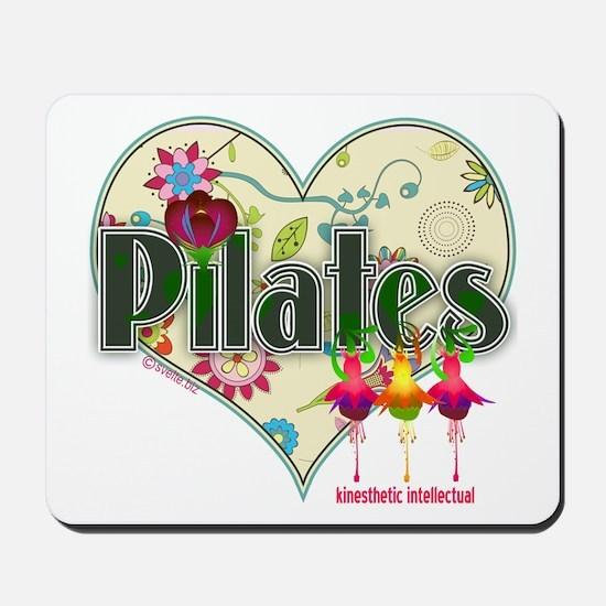 PIlates Fanciful Flowers Mousepad