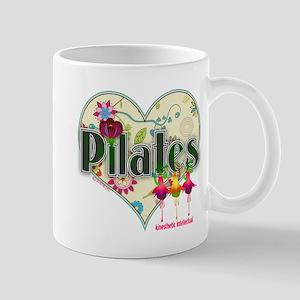 PIlates Fanciful Flowers Mug