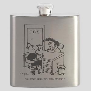 Tax Cartoon 3738 Flask