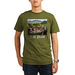 Lake Placid Organic Men's T-Shirt (dark)