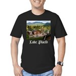 Lake Placid Men's Fitted T-Shirt (dark)