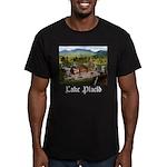 Lake Placid Men's Fitted T-Shirt (dark)