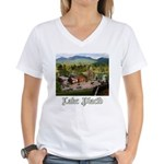 Lake Placid Women's V-Neck T-Shirt