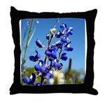 Bluebonnet Throw Pillow by Penny Mikeman Photos