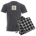 Logo Men's Charcoal Pajamas