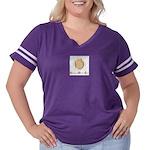 Logo Women's Plus Size Football T-Shirt