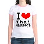 I love Thai Massage Jr. Ringer T-Shirt