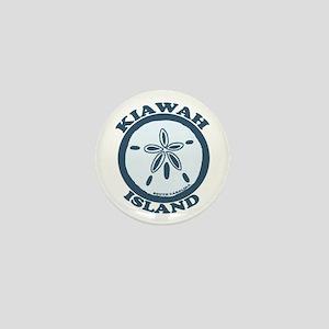Kiawah Island SC - Beach Design Mini Button