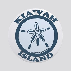 Kiawah Island SC - Beach Design Ornament (Round)