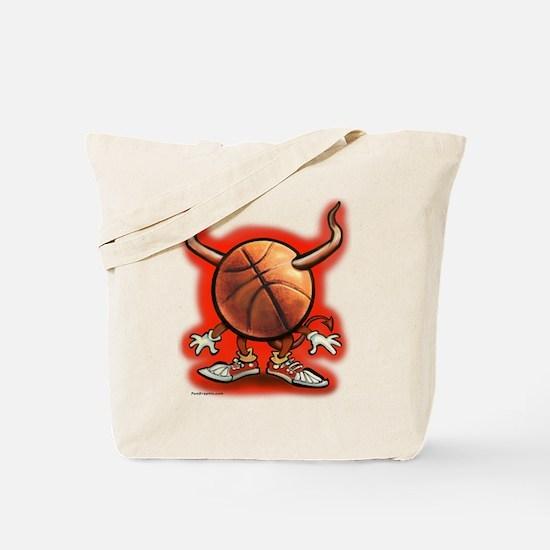 Funny Basketball hoops Tote Bag