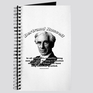 Bertrand Russell 01 Journal
