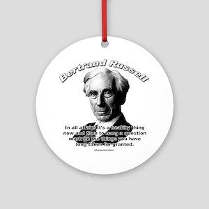 Bertrand Russell 01 Ornament (Round)