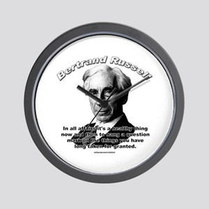 Bertrand Russell 01 Wall Clock