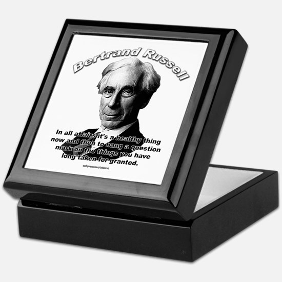 Bertrand Russell 01 Keepsake Box