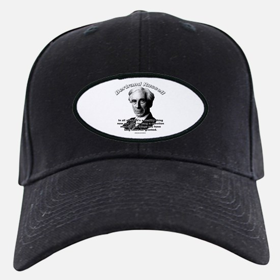 Bertrand Russell 01 Baseball Hat