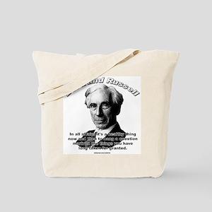 Bertrand Russell 01 Tote Bag