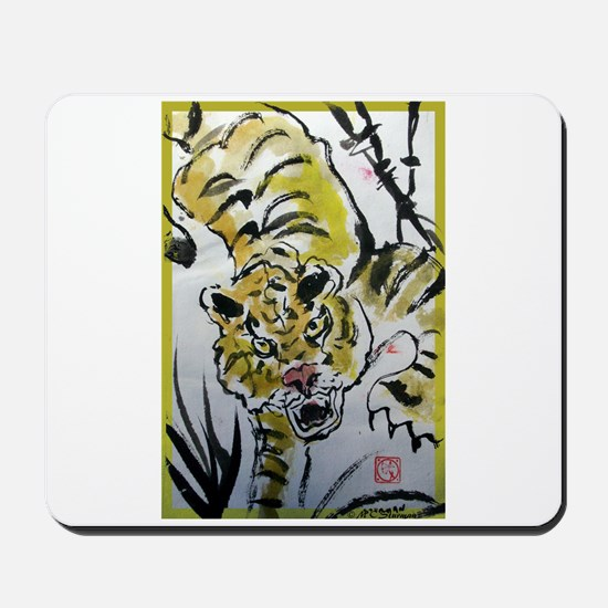 chinese tiger Mousepad