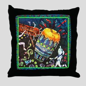 Conga Drum Throw Pillow