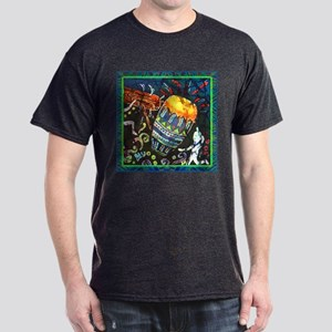 Conga Drum Close Up Dark T-Shirt