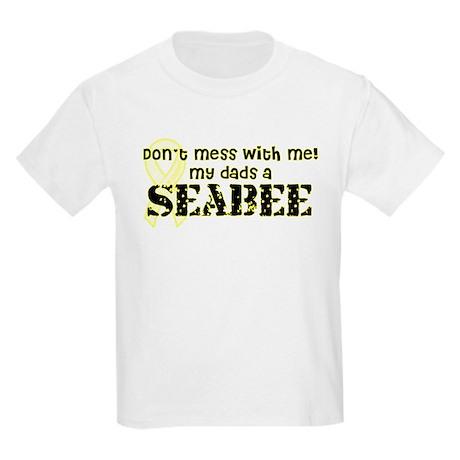My Dad's A Seabee Kids Light T-Shirt