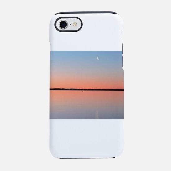 Moon Sunrise iPhone 7 Tough Case