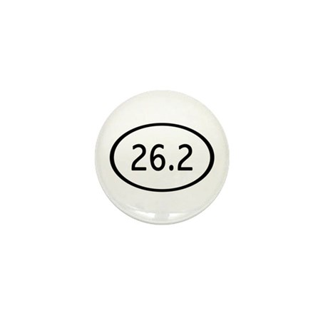 26.2 Miles Mini Button (10 pack)