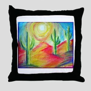 Desert, Bright, Throw Pillow