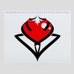 Heart Wall Calendar