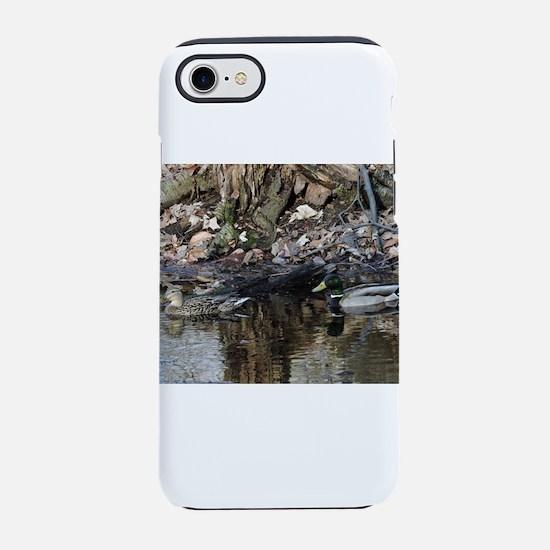 Mallard Couple iPhone 7 Tough Case