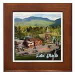 Lake Placid Framed Tile