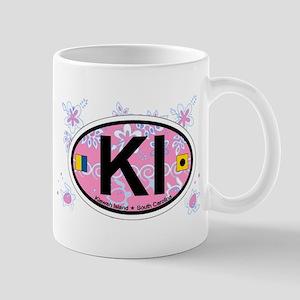 Kiawah Island SC - Oval Design Mug