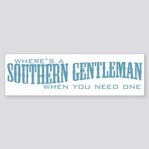 Southern Gent Bumper Sticker