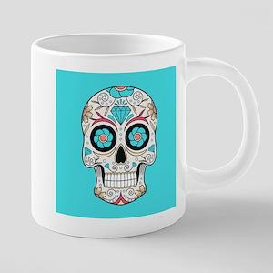 Sugar Skull 20 oz Ceramic Mega Mug
