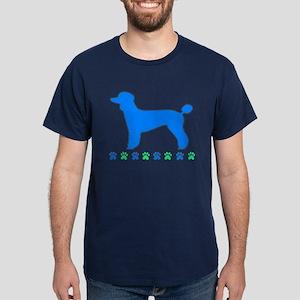 Poodle Paws Dark T-Shirt